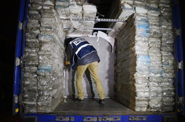 Konya'da 161 bin paket kaçak sigara ele geçirildi