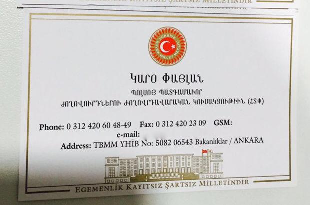 Meclis tarihinde ilk! Hem Türkçe, hem Ermenice