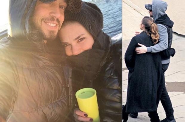 Murat Boz sevgilisi Aslı Enver'i 4 saat bekledi