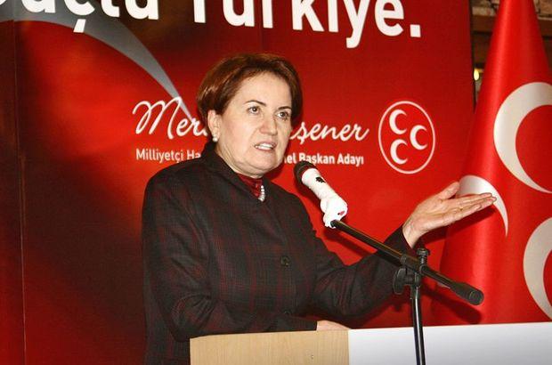 Meral Akşener, MHP Genel Merkezi'nin kapattığı Denizli teşkilatını ziyaret edecek