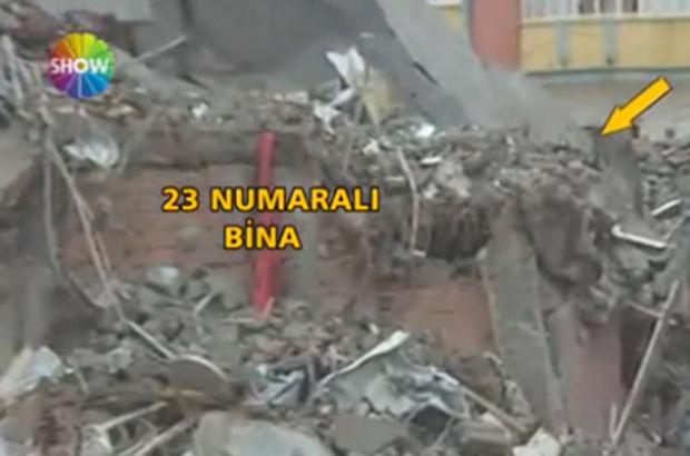 Cizre'daki 23 numaralı binanın görüntüleri