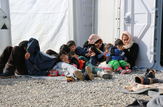 153 olayda 6 bin 604 sığınmacı yakalandı