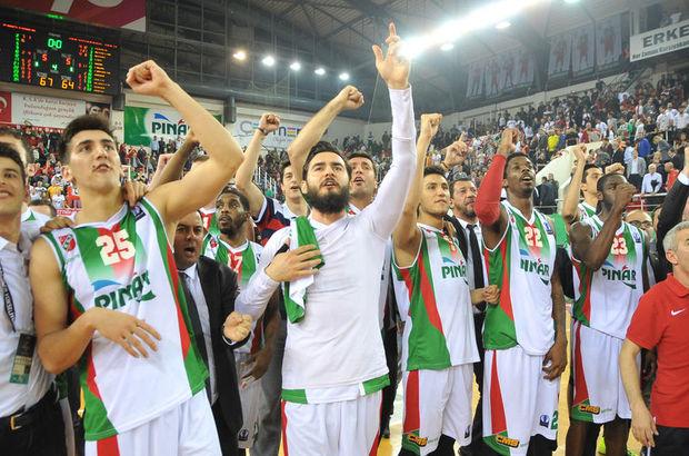 Pınar Karşıyaka: 67 - Galatasaray Odeabank: 64