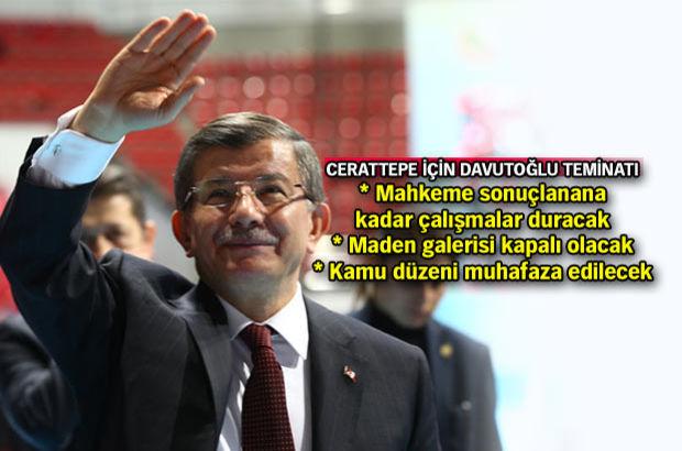 Başbakan Ahmet Davutoğlu: Artvin'in, Cerattepe'nin korunması asli görevimizdir