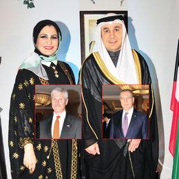 Kuveyt Konsolosluğu'ndan çifte kutlama
