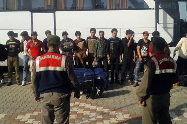 Edirne'de 155 kaçak göçmen yakalandı