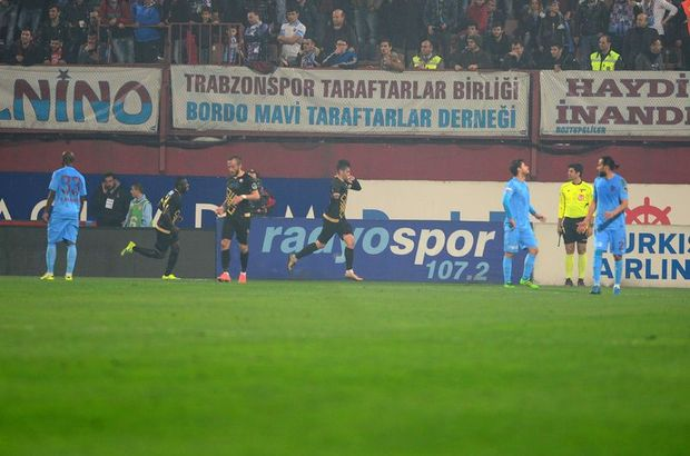 Trabzonspor: 1 - Osmanlıspor: 2 | MAÇ SONUCU