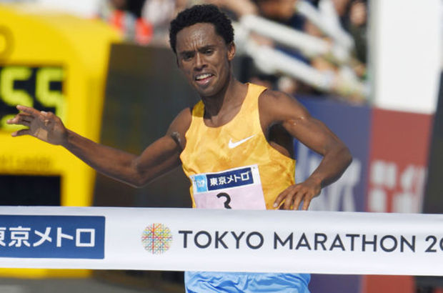 Tokyo Maratonu'nu Lilesa ve Kiprop kazandı