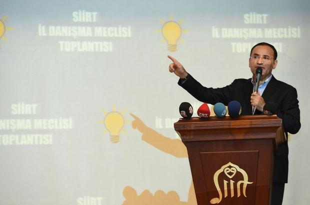 Bozdağ'dan HDP'li vekil hakkında dokunulmazlık açıklaması