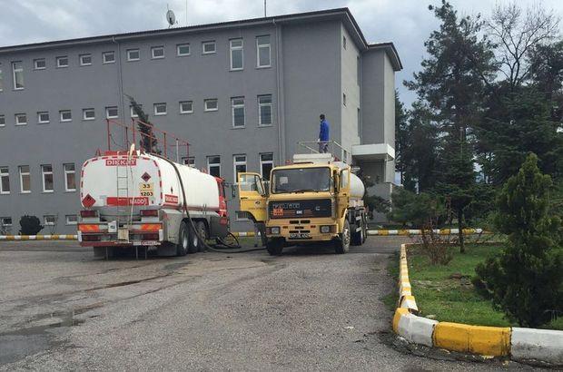Sakarya' da 17 bin 500 litre kaçak mazot ele geçirildi
