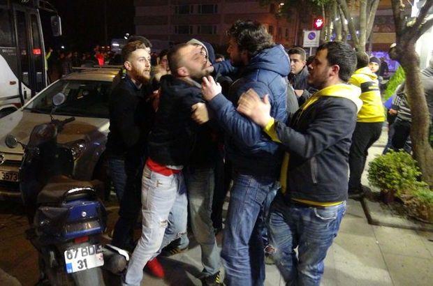 Fenerbahçe - Beşiktaş Maçının Ardından Taraftarlar Birbirine Girdi 40