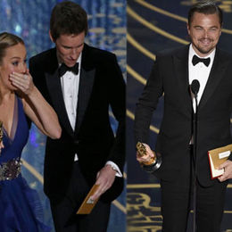 Oscar'a DiCaprio imzası