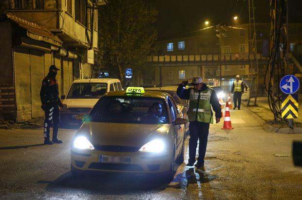 Başkent'te 3 bin 250 polisle asayiş uygulaması