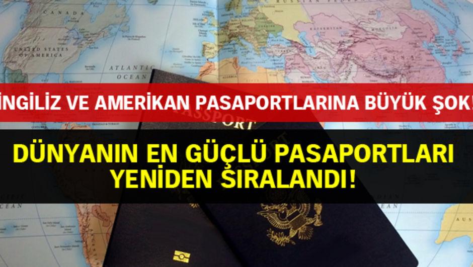 Türk pasaportu dünyada kaçıncı sırada?