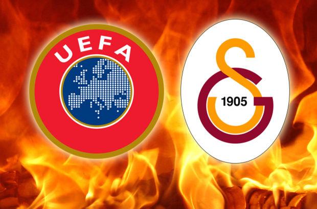 Son Dakika: UEFA'dan Galatasaray'a 1 yıl ceza!