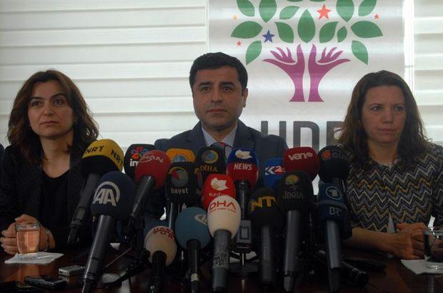 Selahattin Demirtaş'tan sivil cuma çağrısı