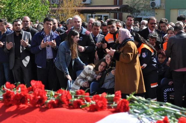 Muammer Kahramantürk'e son görev
