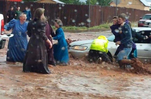 ABD'yi aşırı yağış ve fırtına vurdu
