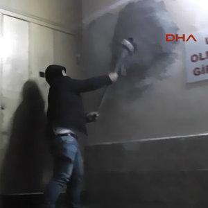 150'nci kez bastılar! Bu sefer duvardan!