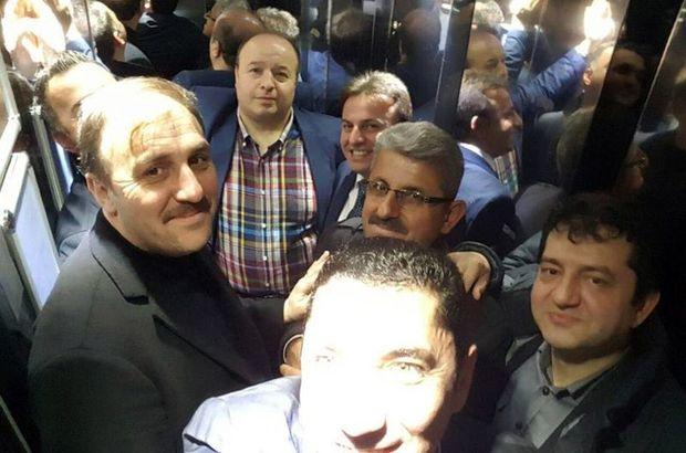 AK Partili vekil asansörde mahsur kaldı