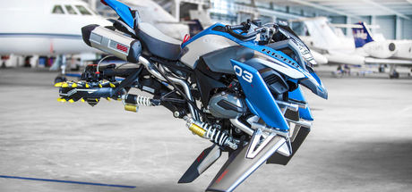 Uçan motosiklet BMW Hover Ride