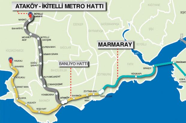 Ataköy - İkitelli Metro Hattı İBB Meclisi Kurthan DEMİR