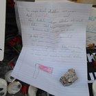 Taksim'deki patlama yerinde küçük kızdan, duygulandıran mektup