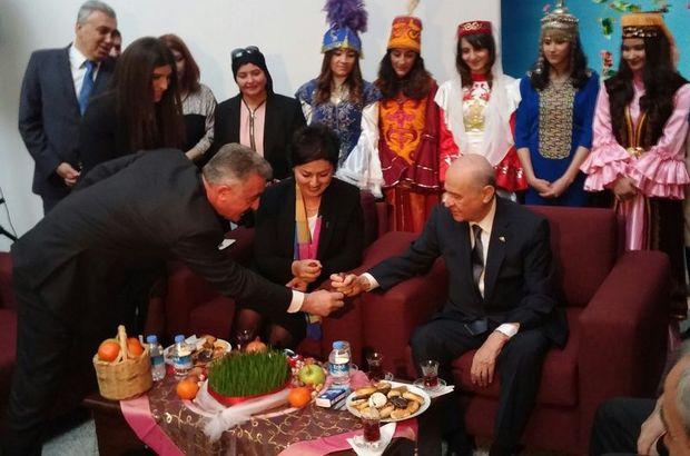 Bahçeli Nevruz'u böyle kutladı