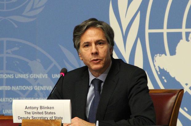 John Kerry'nin yardımcısı Antony Blinken Türkiye'ye geliyor