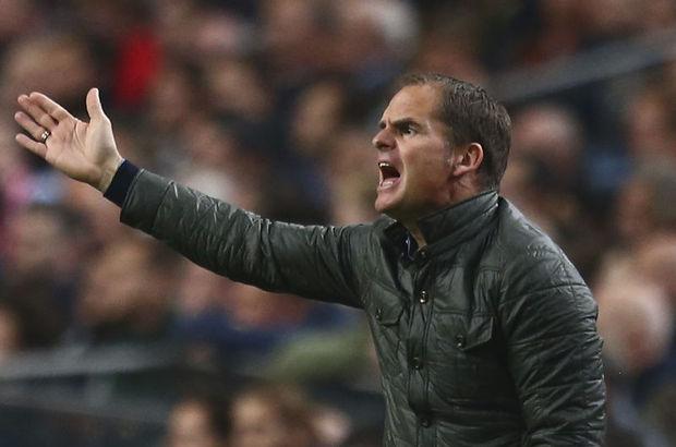 Ajax'ta Frank De Boer şoku!