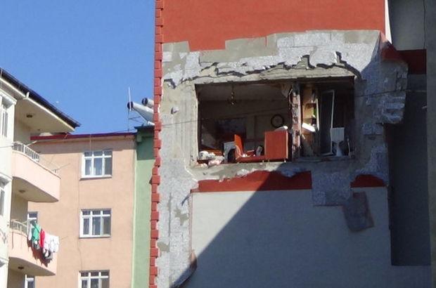 İran'da doldurulan tüp Iğdır'da patladı, mutfağın duvarı yıkıldı: 1'i bebek 3 yaralı