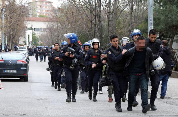 Ankara Üniversitesi'nde gerginlik: 13 gözaltı!