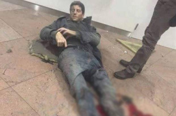 Sebastien Bellin, Brüksel'deki terör saldırısında yaralandı
