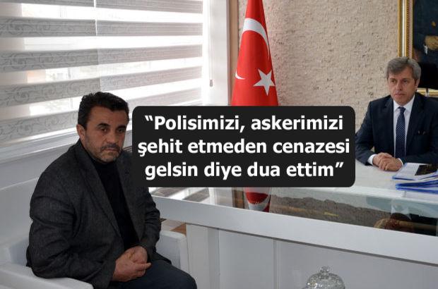 PKK'lı Gülistan Aysal'ın babasından Vali'ye teşekkür ziyareti