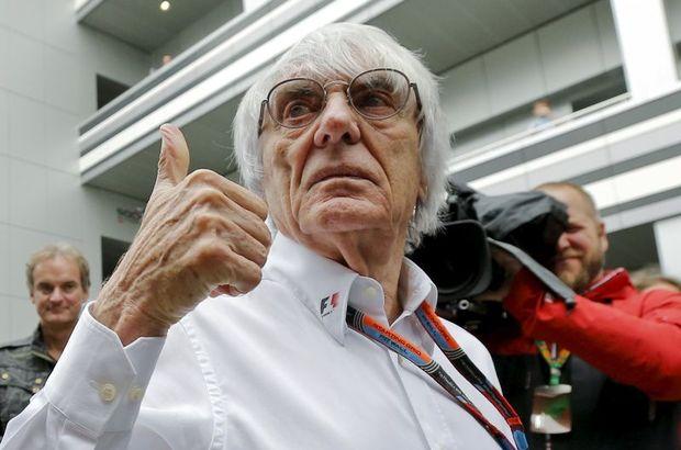 Formula 1'in patronu Bernie Ecclestone'dan öz eleştiri