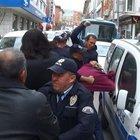 Teröristin Keşan'da amcasına ait işyeri saldırıya uğradı