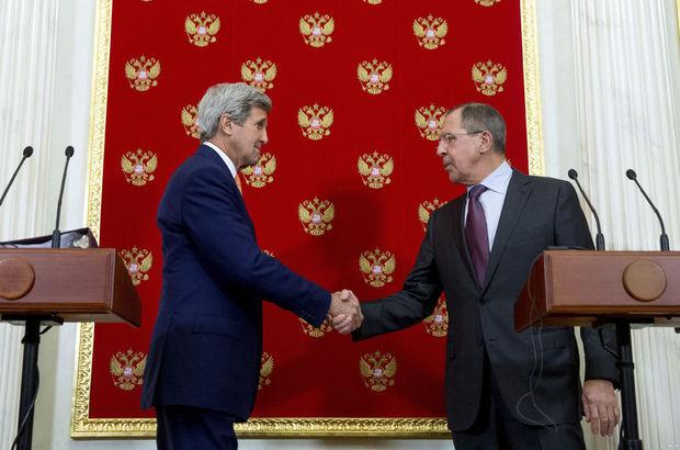 Kerry, Putin ve Lavrov ile görüştü