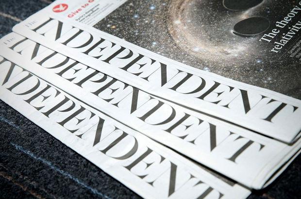 İngiltere'nin önde gelen gazetelerinden The Independent son kez basıldı