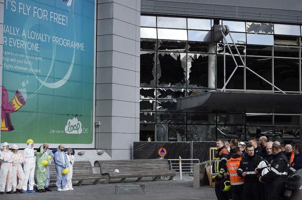 Brüksel'deki Zaventem Havalimanı Salı gününe kadar kapalı