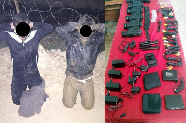 Gaziantep'te 4 DAEŞ'li termal dürbünlerle yakalandı