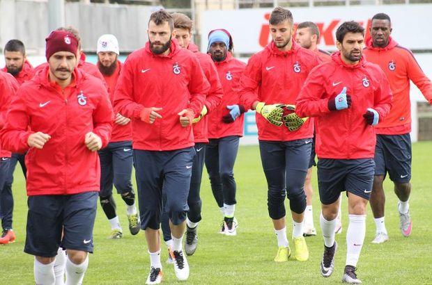 Trabzonspor'da Gaziantepspor hazırlıkları