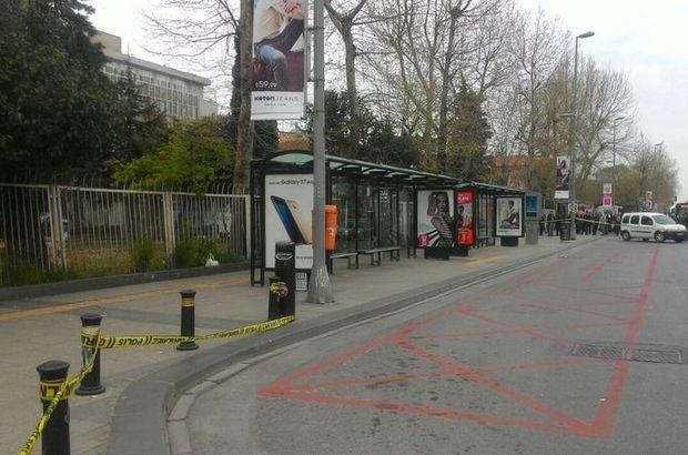 Fatih'te otobüs durağında şüpheli çanta alarmı!