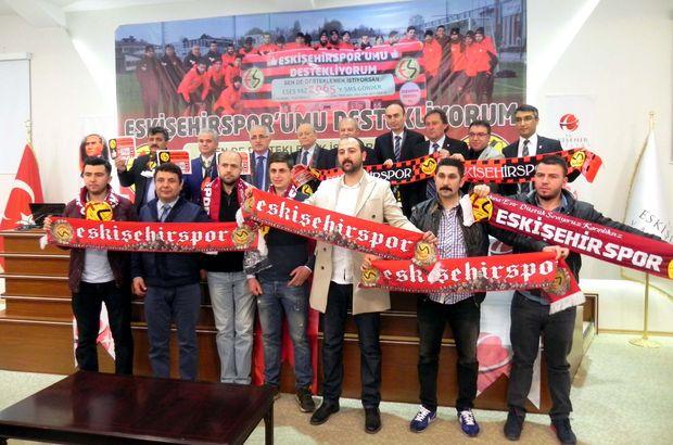 Eskişehirspor'a SMS'le destek