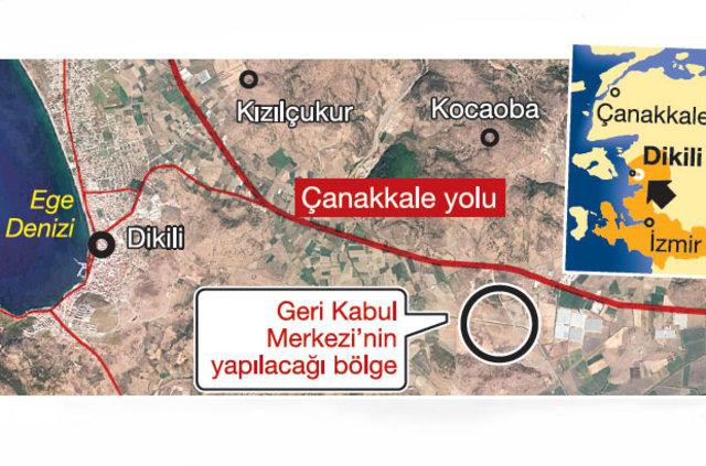 72 bin göçmen Dikili'ye gelecek