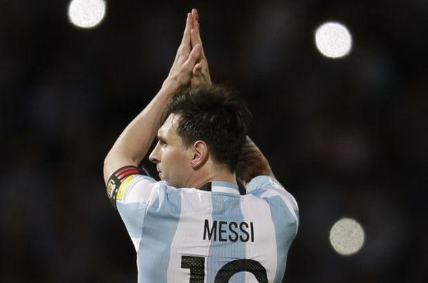 Lionel Messi'ye sevgi seli