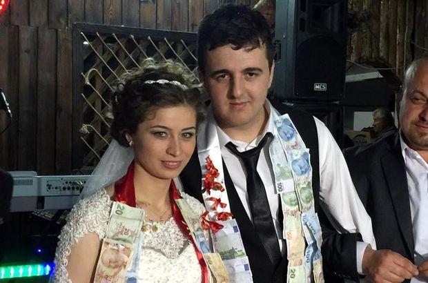 Bartın'da hapisten izin alarak düğün yaptı