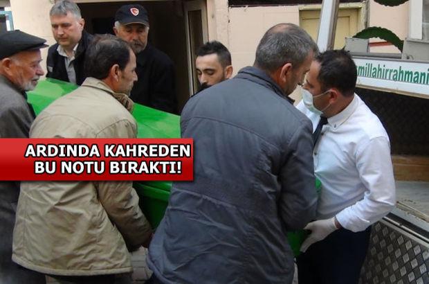 Bandırma'da 'Kızıma iyi bakın' yazılı not bıraktı, işyerinde intihar etti