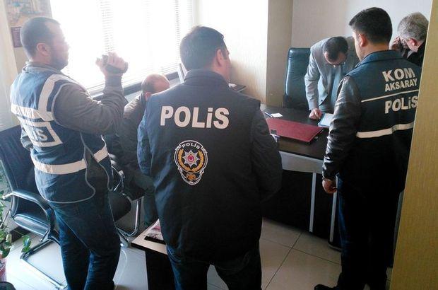 Aksaray'da 'Paralel Yapı' operasyonu: 1 gözaltı