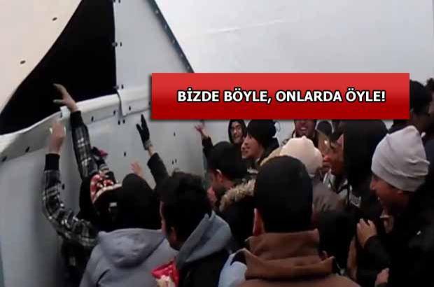 Yunanistan'da mültecilere yapılan yardım tepki topladı
