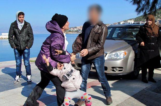 Çeşme'de lastik botta 44 Suriyeli mülteci yakalandı